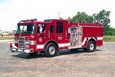 BEDFORD PARK FD  ENGINE 710  2000  PIERCE DASH   1500-500-30F   # 11232
