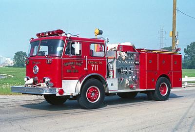 BEDFORD PARK FD  ENGINE 711  1976  SEAGRAVE   1500-500
