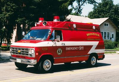 BRIDGEVIEW EMERGENCY SERVICES 4230  CHEVY