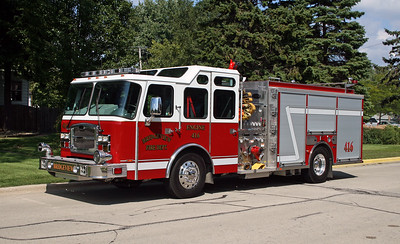 BRIDGEVIEW FD  ENGINE 416  2014  E-ONE TYPHOON   1500-1000-30   # 38556