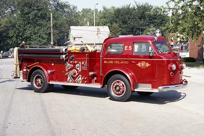 BLUE ISLAND FD ENGINE 2115  1947  ALF 700   1000-100