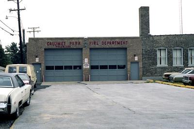 CALUMET PARK VFD STATION  ORIGINAL