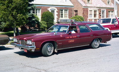 CALUMET PARK  CAR 78   CHIEF
