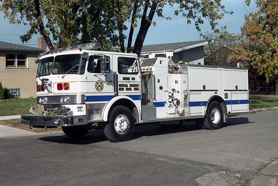 CENTRAL STICKNEY ENG 905 WITH BLUE STRIPE  BF