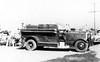 COLUMBUS MANOR ENGINE  1925  YELLOW-KNIGHT X-CHICAGO INSURANCE PATROL  JACOB PRESS BODY  SIDE VIEW