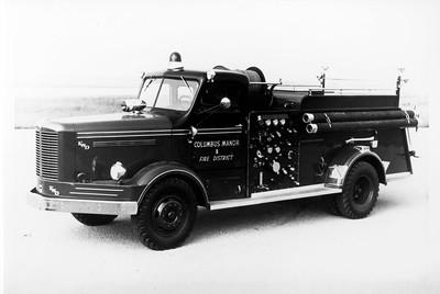 COLUMBUS MANOR ENGINE 1953 FWD 4X4  750-750