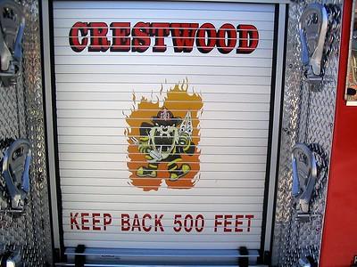 CRESTWOOD  REAR LOGO  ENGINE 2313