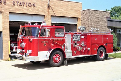 CRESTWOOD ENGINE 2303  1971 SEAGRAVE 1250-500