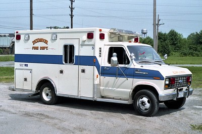 DIXMOOR  AMBULANCE 2402  1984 FORD E350 - MOBILE MED