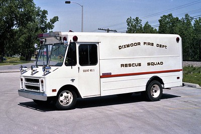 DIXMOOR  RESCUE 2426  1970 CHEVY STEPVAN   DRIVERS SIDE