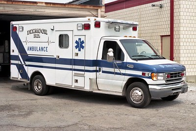 DIXMOOR  AMBULANCE 2412   1998 FORD E450 - OSAGE