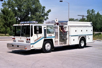 DIXMOOR ENGINE 2403  1984 HENDRICKSON - PIERVILLE  1500-750    PAINTED WHITE