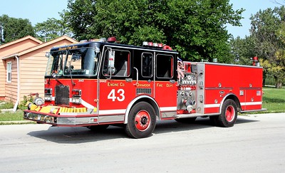 DIXMOOR  ENGINE 2443   1992 SPARTAN GLADIATOR - LUVERNE  1500-500  10463   X- CFD ENGINE 30