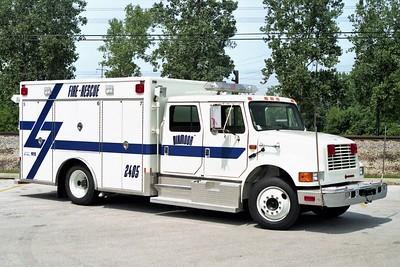 DIXMOOR   SQUAD 2405  1991 IHC 4700 - FRONTLINE