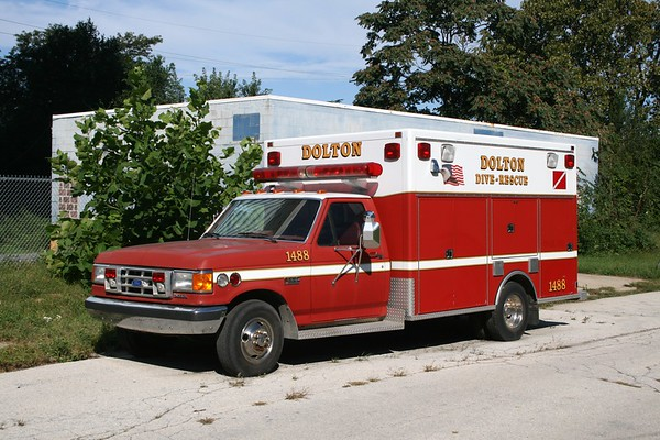 DOLTON  DIVE RESCUE  FORD F550 -