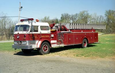 DOLTON TRUCK 1443  1966 MACK C96 - PIRSCH 1000-200- 100' MIDMOUNT AL  C95FC-1482