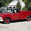 EAST HAZELCREST RESCUE 1680  1965 CHEVY - AUTO TRUCK
