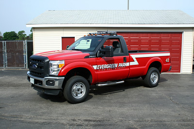 EVERGREEN PARK  UTILITY 42  FORD F-250 PICKUP