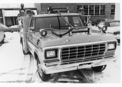 EVERGREEN PARK FD  1978 FORD-DARLEY  FRONT VIEW