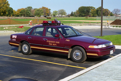 EVERGREEN PARK  CAR 3401