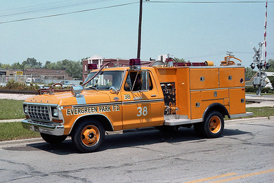EVERGREEN PARK SQUAD 38  FORD F  BF