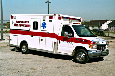 FORD HEIGHTS AMBULANCE 270