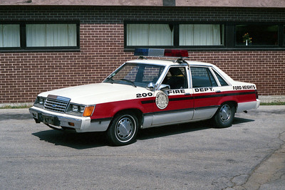 FORD HEIGHTS FD  CAR 200