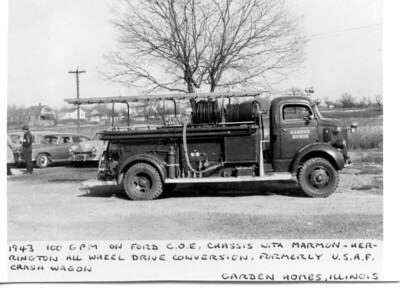 GARDEN HOMES FD  ENGINE  1943  X USAF