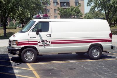 GLENWOOD FD  CAR 426  1993  DODGE RAMVAN