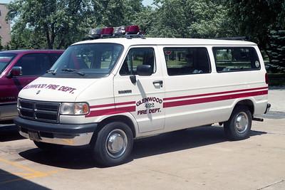 GLENWOOD FD  CAR 422  1993  DODGE RAMVAN
