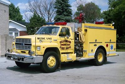 GLENWOOD FD  ENGINE 401  1991  FORD F700 - LUVERNE   500-500