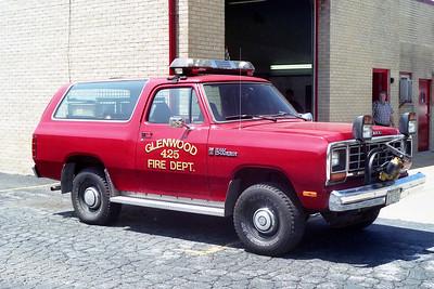 GLENWOOD FD  CAR 425  1985  DODGE RAM  4X4