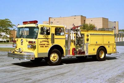 GLENWOOD FD  ENGINE 405  1982  SUTPHEN   1250-500    HS-1680