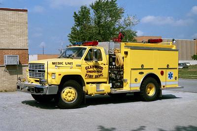 GLENWOOD FD  ENGINE 402  1991  FORD F700 - LUVERNE   500-500