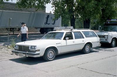 HARVEY CIVIL DEFENSE CAR