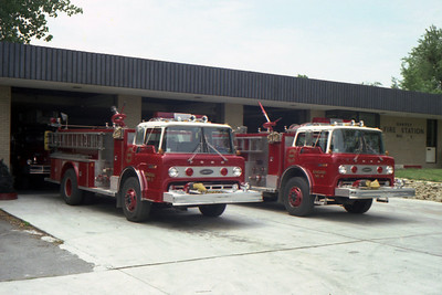 HARVEY FD ENG 3 & 4  FORD C-8000-E-ONE  BF