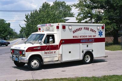 HARVEY FD  RESCUE 12  FORD E-350