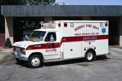 HARVEY FD RESCUE 11 FORD E-350