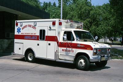 HARVEY FD  RESCUE 13  FORD E-350
