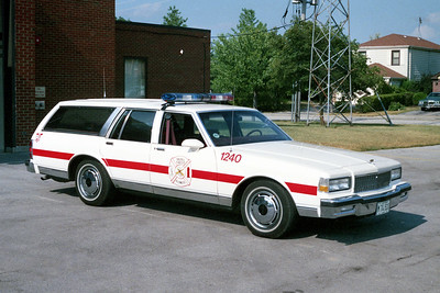 HAZEL CREST FD  CAR 1240