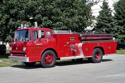 HOLBROOK VFD  ENGINE 353  1958  FORD C-800 - FIRE FIGHTER   500-750