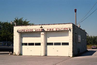 HOMEWOOD ACRES STATION PRIOR TO REBUILDING
