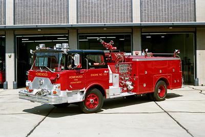 HOMEWOOD  ENGINE 532  1971 MACK CF611  1250-750   CF611F12-1360