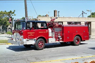 HOMEWOOD ENGINE 532  MACK CF