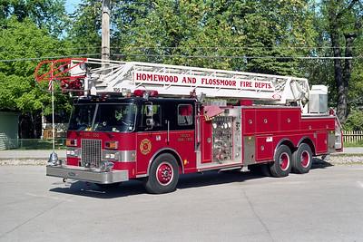 HOMEWOOD - FLOSSMOOR TRUCK  550 - TRUCK 1350