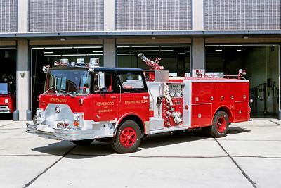 HOMEWOOD  ENGINE 534  1976 MACK  1250-750  CF611F-1780