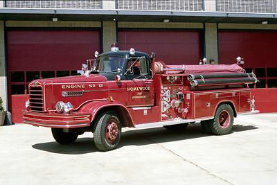HOMEWOOD  ENGINE 12   1967 FWD  1000-200