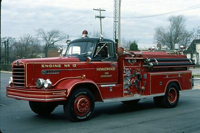ENGINE 12  1957 FWD  1000-