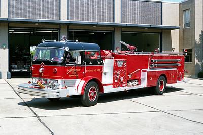 HOMEWOOD  ENGINE 530  1960 MACK C95  1000-500 - QUAD  C95F-1063