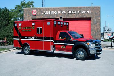 LANSING AMBULANCE 164